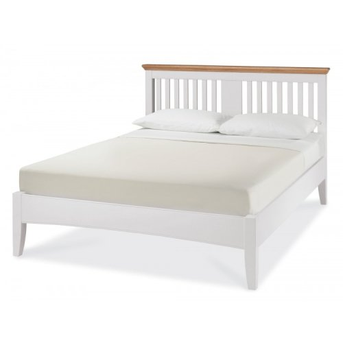Hampstead Two Tone Painted Furniture Kingsize 5ft Bedstead
