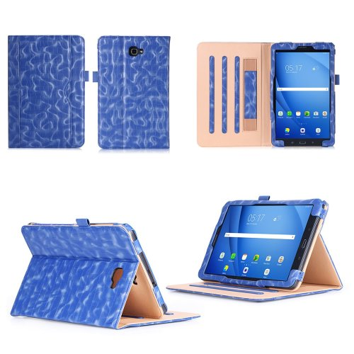 big sale ed720 62d47 Samsung Galaxy Tab A6 10.1 Case,VOVIPO Premium Leather Cover Stand  Protective Folio Case For Samsung Galaxy Tab A6 10.1 T580/T585 With  Handstrap...