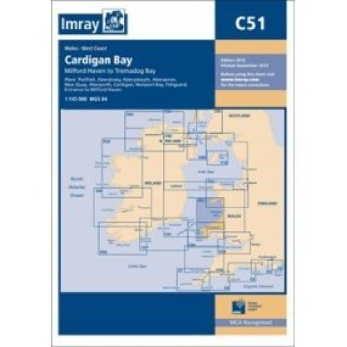 Imray Chart C51: Milford Haven to Tremadog Bay