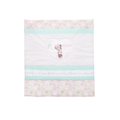 Minnie Mouse Crib Set - Quilt, Bumper & Fitted Sheet