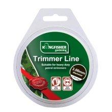 3.00mm x 15m Trimmer Line -  line trimmer strimmer garden x 15m grass heavy duty 300mm 3mm strimmers