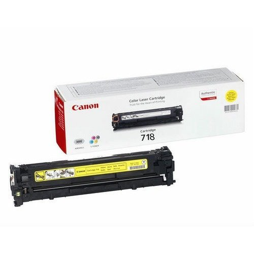 Canon Crg 718 Y Cartridge 2900pages Yellow