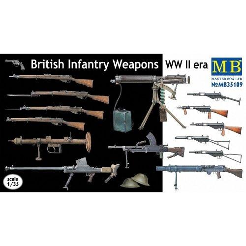 Mas35109 - Masterbox 1:35 - British Weapons Set Wwii