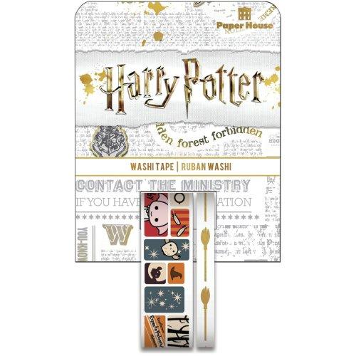 Paper House Washi Tape 2/Pkg-Harry Potter(TM) - Chibi Scenes