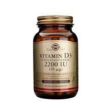 Solgar Vitamin D3 (2200) 100 Capsules