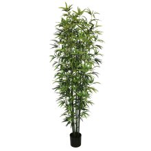 Artificial Realistic Bamboo Trunk Tree Plant 210cm Potted