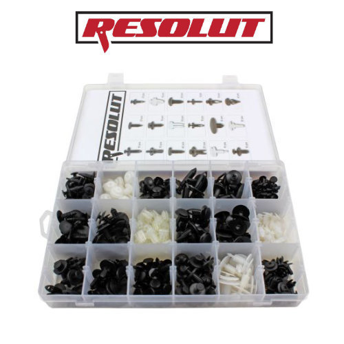 RESOLUT FORD Assorted Trim Clips 415 Pieces 9032