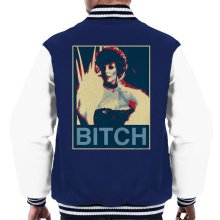 Joan Collins Dynasty Poster Style Print Men's Varsity Jacket