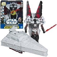 Star Wars Transformers Darth Vader To Star Destroyer