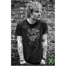 Ed Sheeran Skull Maxi Poster