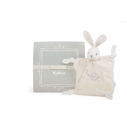 Kaloo K962164 Perle Doudou Knots Rabbit, Cream, 20 cm