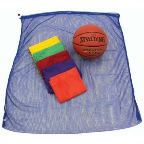 Olympia Sports BC020P 42 in. x 34 in. Rainbow Mesh Bag - Set of 6