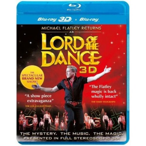 Michael Flatley Returns As Lord of the Dance in 3d
