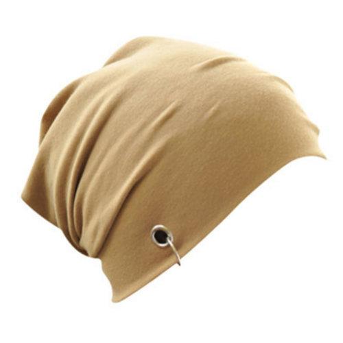 Fall / Winter Comfortable Beanie Hat Warm Beanies Cap Fashionble, Light tan