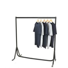 5ft x 5ft Fishtail Clothes Rail | Steel Hanging Clothes Rail