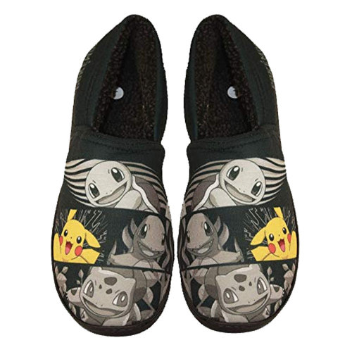 12e03e11935c Mens Pokemon Suess Fur Lined Slippers Mules on OnBuy