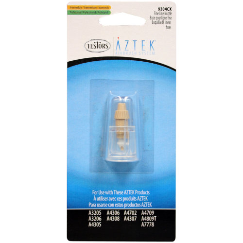 Aztek Airbrush Nozzle-.3mm Fine Line Tan