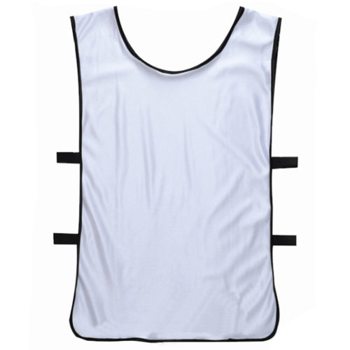 Set of 6 Basketball/Soccer Training/Scrimmage Vests Basketball Jersey, WHITE