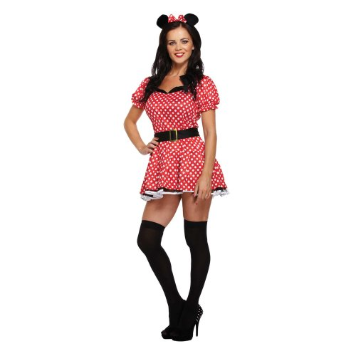 Women's Miss Mouse Costume | Adult Minnie Mouse-Style Costume
