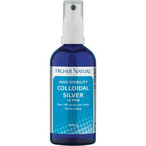 Higher Nature  Active Colloidal Silver - High Stability 100ml