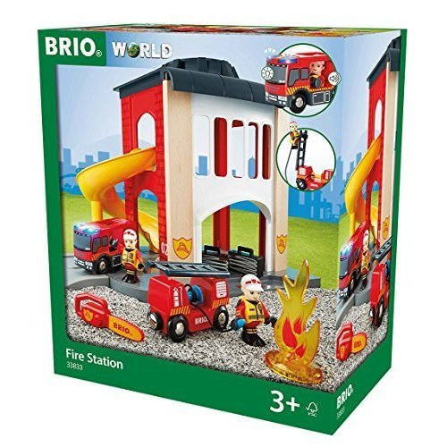 BRIO Rescue Central Fire Station