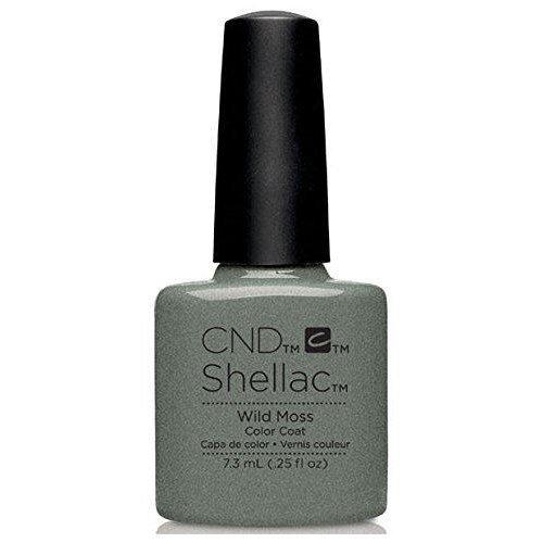 CND Shellac Nail Polish - Wild Moss