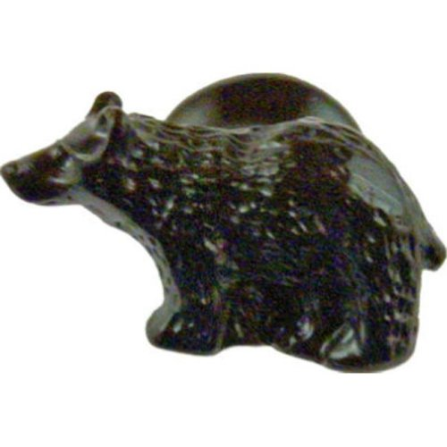 Sierra Lifestyles SL-681304 Right Bear Cabinet Knob, Black