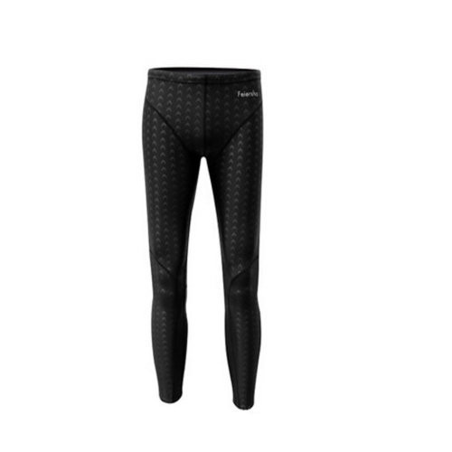 Waterproof Quick Dry Garment Swimwear For Men\High Quality Bathing Suit(Black)