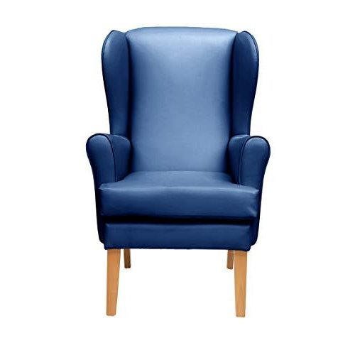 MAWCARE Morecombe Orthopaedic High Seat Chair - 21 x 18 Inches [Height x Width] in Manhattan Blue (lc21-Morecombe_m)