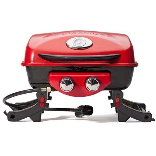 Cuisinart Grill CGG-522 18 in. dia. Dual Blaze Two Burner Gas Grill - Legs Fold Up