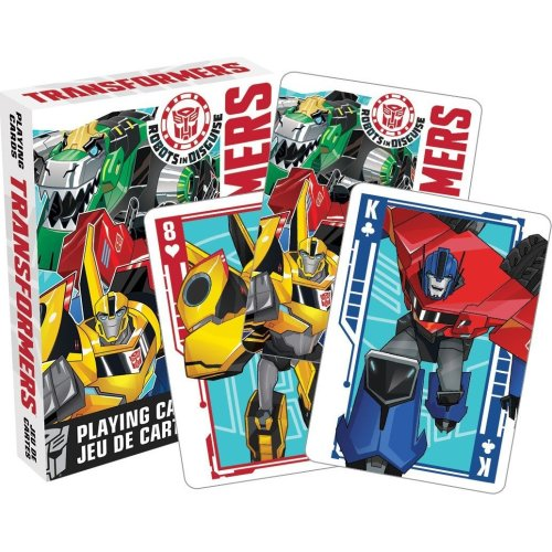 Playing Card - Transformers - Robots In Disguise Youth Poker Games New Licensed 52399