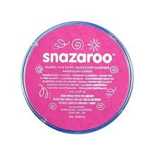 Snazaroo 18ml Face Paint - Bright Pink - Colours Fancy Dress Body Paints -  face snazaroo 18ml colours paint fancy dress body paints classic up make