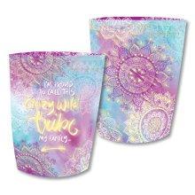 Paper Lantern - Crazy Wild Tribe - Pink
