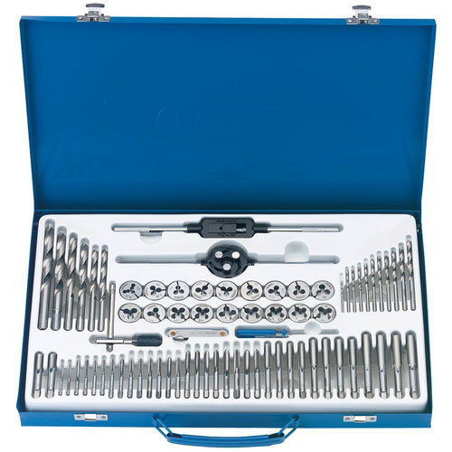 Draper 79205 75 Piece Combination Tap and Die Set Metric and BSP