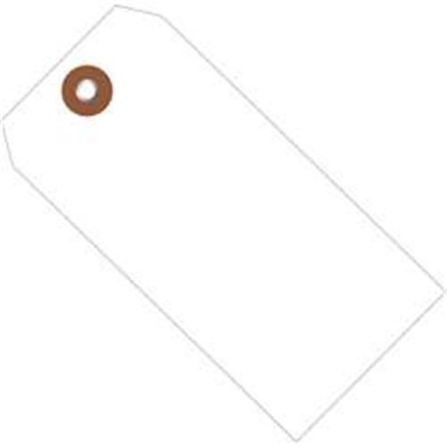 Box Partners G26050 4.75 x 2.38 in. White Plastic Shipping Tags - Pack of 100
