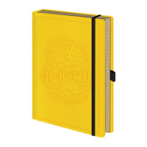Harry Potter Hufflepuff House Crest Premium Hardback Notebook