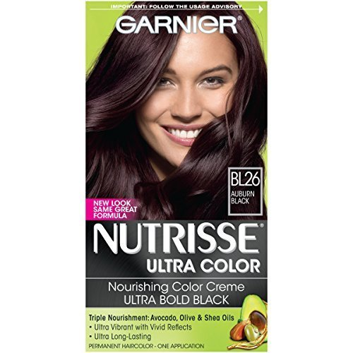 Garnier Nutrisse Ultra Color Nourishing Color Creme BL26 Reflective Auburn Black Packaging May Vary