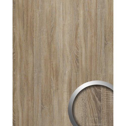 WallFace 17281 DECO OAK TREE Wall panel self-adhesive wood decor grey 2.6 sqm