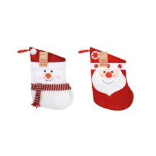 Eurowrap Christmas Santa Snowman Stockings -  eurowrap christmas santa snowman stockings