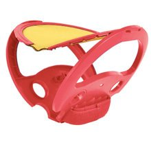 Toss and Catch Ball Sports Game Set for Kids with Ball & Grip Mitts,Red