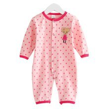 Baby Suit Clothing Long-Sleeved Cotton Baby Crawl Sports Clothing J