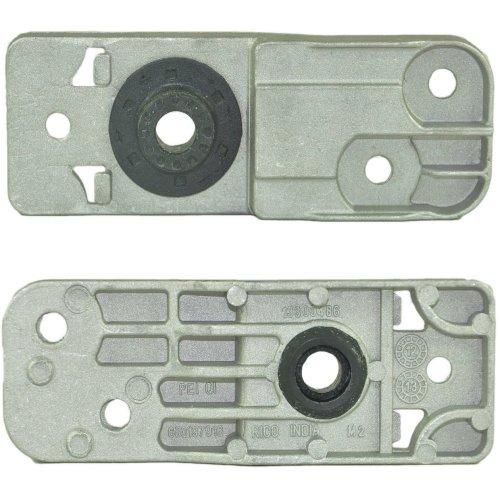 2x LOWER RADIATOR BRACKET FOR VAUXHALL/OPEL ASTRA J/MK6 1310008, 13337826