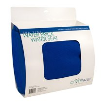 Cover Valet Water Brick Water Seat - Comfy Booster Seat for Spa and Hot Tub - Blue
