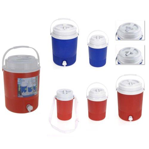 Redcliffs Outdoor Gear Drink Barrel In Red Set of 3 (7.5L, 2.4L, 1.25L)
