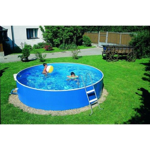 Aqua World Lagoon Pool 12 x 3ft | Steel Free-Standing Pool