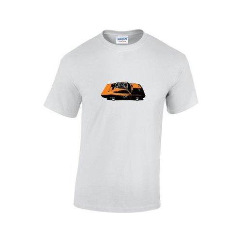 TV Inspired Dukes Of Hazard General Lee Car T-Shirt
