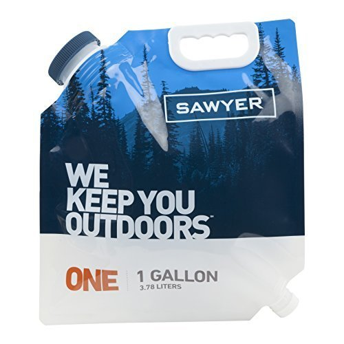 Sawyer Products SP108 One Gallon Water Bladder for MINI and Squeeze Filters