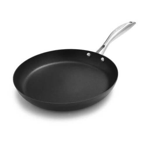 """SCANPAN PRO IQ Non-Stick Omelet Fry Pan, 10.25"""", Black"""