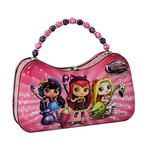 The Tin Box Company 267807-12 Little Charmers Scoop Purse Tin