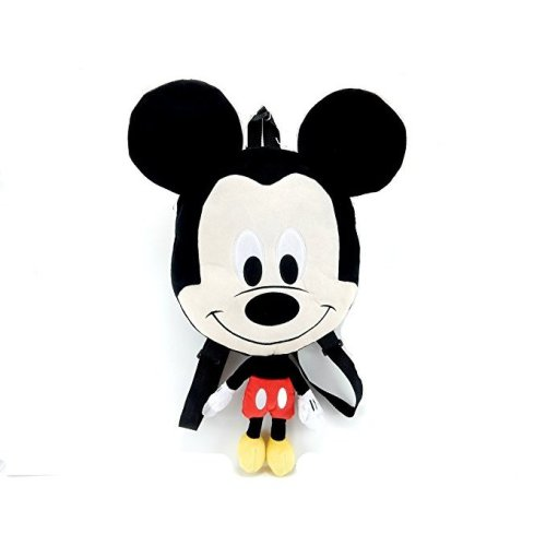 """Plush Backpack - Disney - Mickey Mouse 16"""" Flat New 674731"""
